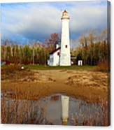 Lake Huron Lighthouse Canvas Print