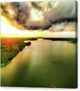 Lake Jordan Canvas Print