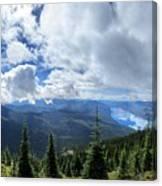 Lake Mcdonald From Mt Brown Trail - Glacier National Park Canvas Print