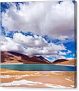 Lake Meniques In Chile Canvas Print