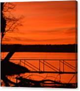 Orange You Glad I Took This Shot Canvas Print