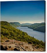 Lake Of The Clouds Canvas Print