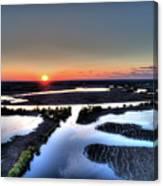 Lake Poygan Sunset Canvas Print