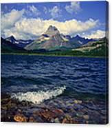 Lake Sherburne, Glacier National Park Canvas Print