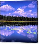 Lake Skaistes Canvas Print