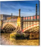 Lambeth Bridge London Canvas Print