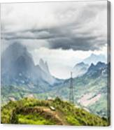 Landscape Around Kasi In North Laos Canvas Print