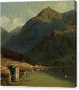 Landscape From Brienzersee Canvas Print