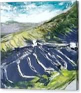 Lanzarote Fields Canvas Print