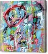 Large Abstract No 5 Canvas Print
