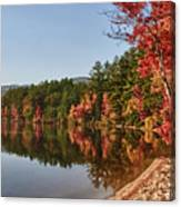 Late Afternoon On Lake Chocorua Canvas Print
