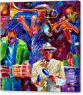 Latin Jazz Canvas Print