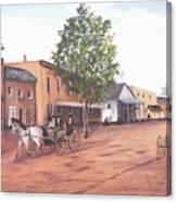 Laurens Street 1890 Canvas Print