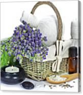 Lavender Spa Canvas Print
