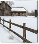 Lawr Farm Canvas Print