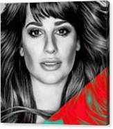 Lea Michele Collection Canvas Print