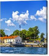Leaving Gotland Canvas Print