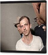Lee Harvey Oswald Dallas Police Station Dallas Texas Unknown Photographer 1963 Canvas Print