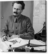Leon Trotsky (1879-1940) Canvas Print