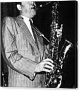 Lester Young Canvas Print