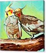 Liefde Canvas Print