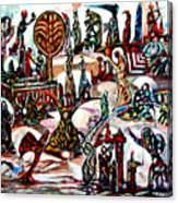 Life In Palestine Canvas Print