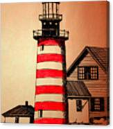 Lighthouse Canvas Print