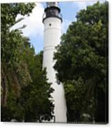 Lighthouse - Key West Canvas Print