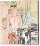 Linda And Stinky Canvas Print