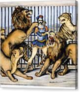 Lion Tamer, 1873 Canvas Print