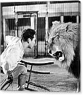 Lion Tamer, 1930s Canvas Print