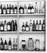 Liquor Bottles Canvas Print