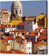 Lisbon View Canvas Print