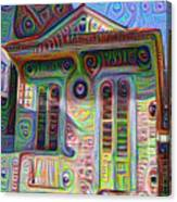 Little House On Bourbon Street Canvas Print