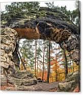 Little Pravcice Gate - Famous Natural Sandstone Arch Canvas Print