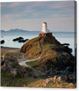 Twr Mawr Lighthouse On Llanddwyn Island Canvas Print