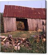 Lloyd Shanks Barn 4 Canvas Print