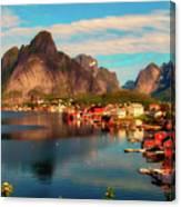 Lofoten, Norway Canvas Print