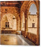 Rhodes, Greece - Loggia Canvas Print