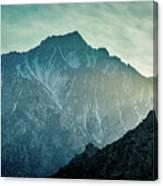 Lone Pine Peak Canvas Print