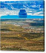 Lone Rock In Lake Powell Utah Canvas Print