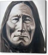 Long Bear Canvas Print