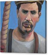 Long Shoreman Canvas Print