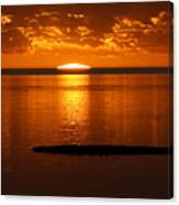 Looking For The Green Flash Canvas Print