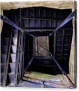 Lookout Tower On A Civil War Battlefield In Antietam Creek Maryl Canvas Print