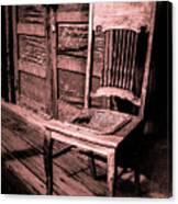 Loomis Ranch Chair Canvas Print