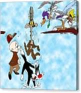 Looney Tunes Canvas Print