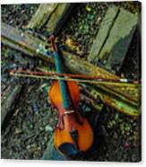 Lost Violin Canvas Print