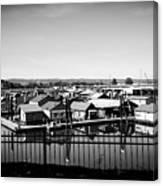Lotus Isle Houseboats Canvas Print