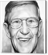 Lou Holtz Canvas Print